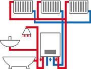 Автономное газовое,  электрическое отопление Николаев