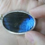 Продаю кулон с драгоценным камнем байкальский лазурит