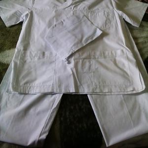 Медицинский костюм белый (мужской)