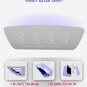 Ультрафиолетовый уничтожитель комаров и мух Insect Killer Light