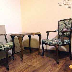 Антиквар,  мебель,  старинный гарнитур из 3-х предметов стиля РОКОКО