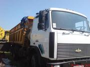 МАЗ Зерновоз 551608-236 + прицеп-самосвал МАЗ